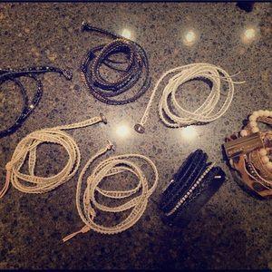 Victoria Emerson Lot of 7 Bracelets